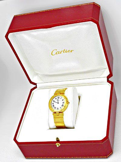 Foto 4, Cartier Santos Vendome Herren, Nur 5mm Flach Neuzustand, U1846