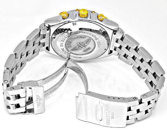 Foto 3, Orig.Breitling-Chronomat STG Pilot Shop! Neuz Portofrei, U1847