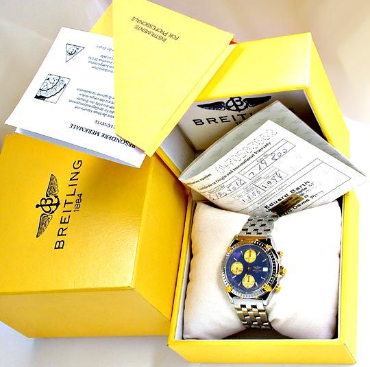 Foto 4, Orig.Breitling-Chronomat STG Pilot Shop! Neuz Portofrei, U1847