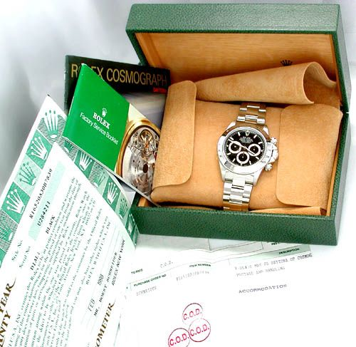 Foto 4, Original Rolex-Cosmograph-Daytona Stahl Neuz. Portofrei, U1848
