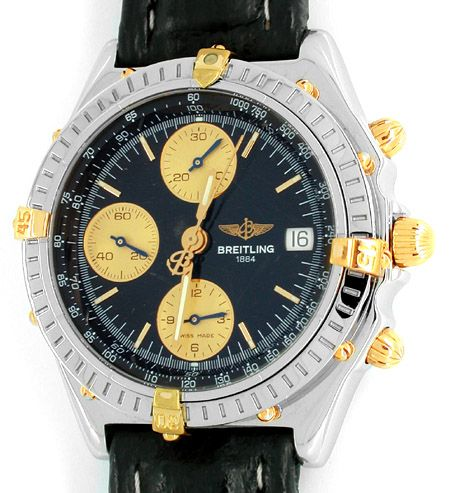 Foto 1, Orig. Hr Breitling Chronomat St/G Shop! Neuw. Portofrei, U1853