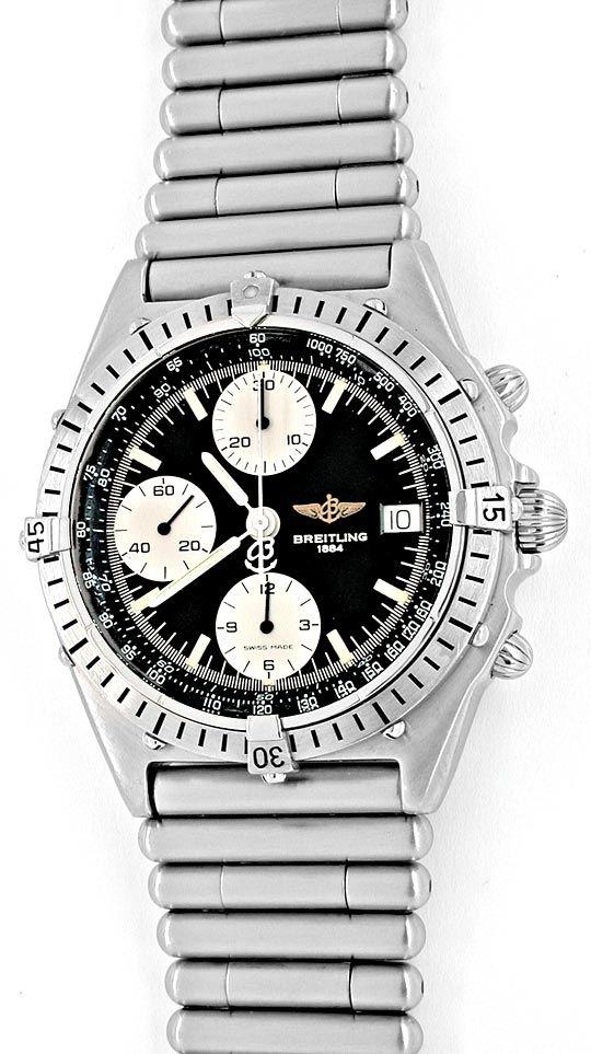 Foto 2, Breitling Chronomat Stahl Herren Automatik Topuhr F.Neu, U1854