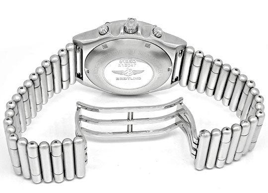 Foto 3, Breitling Chronomat Stahl Herren Automatik Topuhr F.Neu, U1854