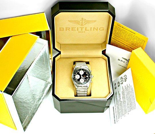 Foto 4, Breitling Chronomat Stahl Herren Automatik Topuhr F.Neu, U1854