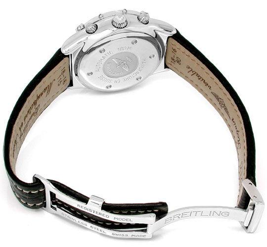 Foto 3, Ungetragen! Orig.Medium Breitling Chronograph Portofrei, U1855