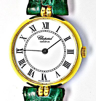 Foto 1, Original Da-Chopard Gelbgold Shop! Neuzustand Portofrei, U1861