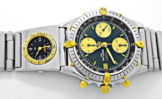 Foto 1, Hr-Breitling-Chronomat St/G UTC St-Band Shop! Portofrei, U1864