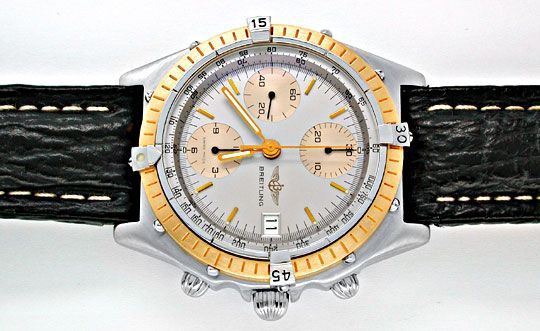 Foto 1, Breitling Chronomat Hr Stahlgold Automatik Topuhr Neuz., U1866