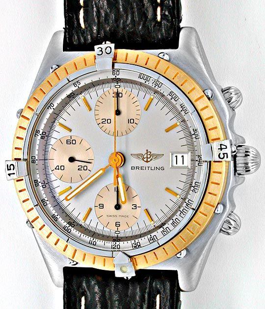 Foto 2, Breitling Chronomat Hr Stahlgold Automatik Topuhr Neuz., U1866