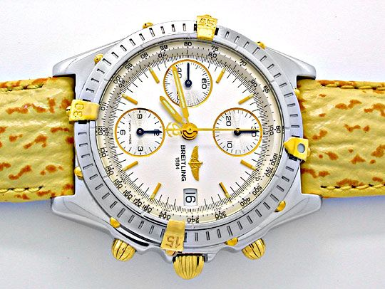 Foto 1, Hr Breitling Chronomat St/G Limit. Shop! Neuz Portofrei, U1867