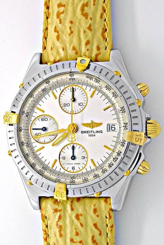 Foto 2, Hr Breitling Chronomat St/G Limit. Shop! Neuz Portofrei, U1867