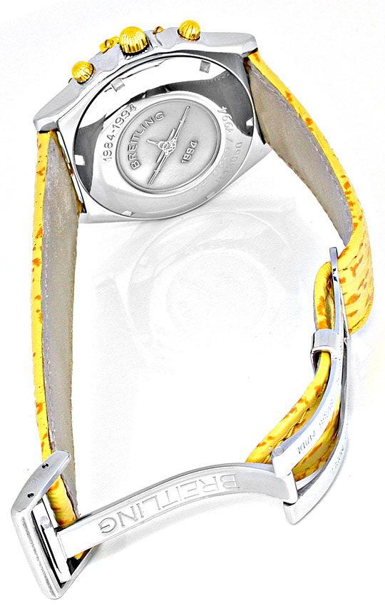 Foto 3, Hr Breitling Chronomat St/G Limit. Shop! Neuz Portofrei, U1867