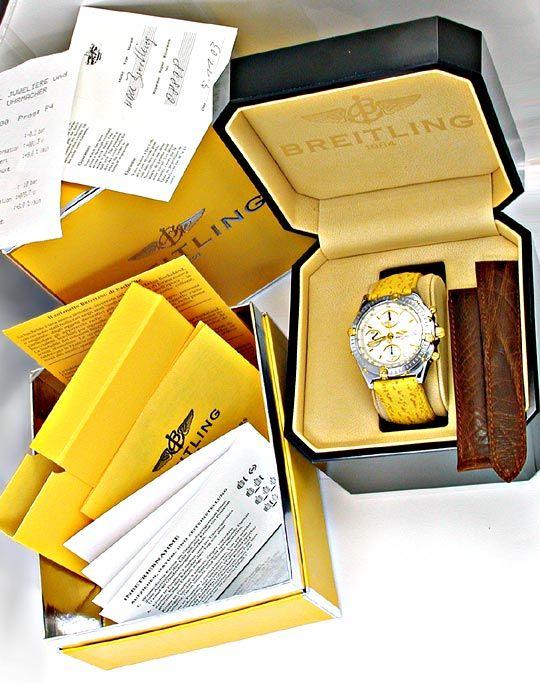 Foto 5, Hr Breitling Chronomat St/G Limit. Shop! Neuz Portofrei, U1867