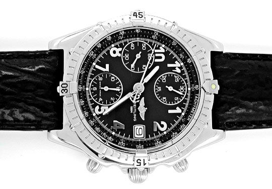 Foto 1, Orig.Hr Breitling Chronomat Stahl Shop! Neuz. Portofrei, U1875