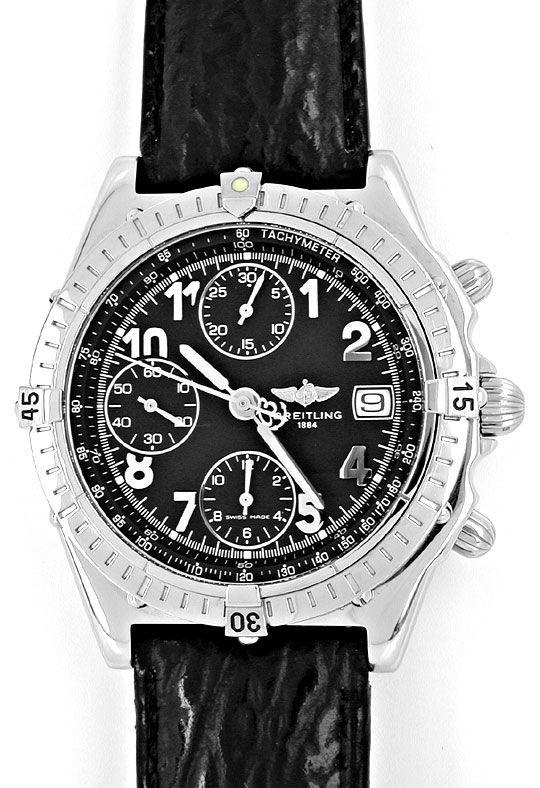 Foto 2, Orig.Hr Breitling Chronomat Stahl Shop! Neuz. Portofrei, U1875