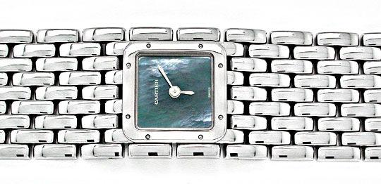 Foto 1, Ungetragene Damen Uhr Cartier Panthere Ruban, Edelstahl, U1878
