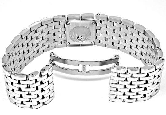 Foto 3, Ungetragene Damen Uhr Cartier Panthere Ruban, Edelstahl, U1878