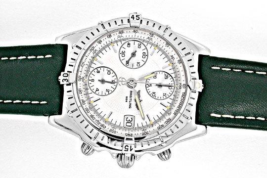 Foto 1, Breitling Chronomat Stahl Chronograph Topuhr Neuzustand, U1879