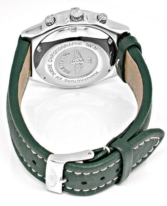 Foto 3, Breitling Chronomat Stahl Chronograph Topuhr Neuzustand, U1879