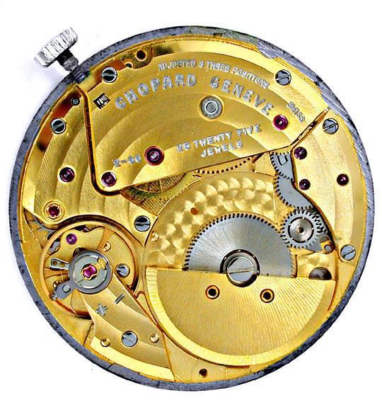 Foto 4, Chopard Herrenuhr Automatik Ultraflach 18K Topuhr Neuz., U1880