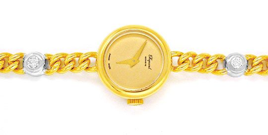Foto 1, Original Chopard Damen Brillant Uhr Topuhr Ungetragen!!, U1882