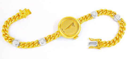 Foto 2, Original Chopard Damen-Brillant-Uhr Topuhr Ungetragen!!, U1882