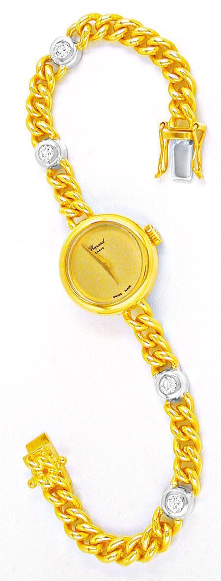 Foto 3, Original Chopard Damen Brillant Uhr Topuhr Ungetragen!!, U1882