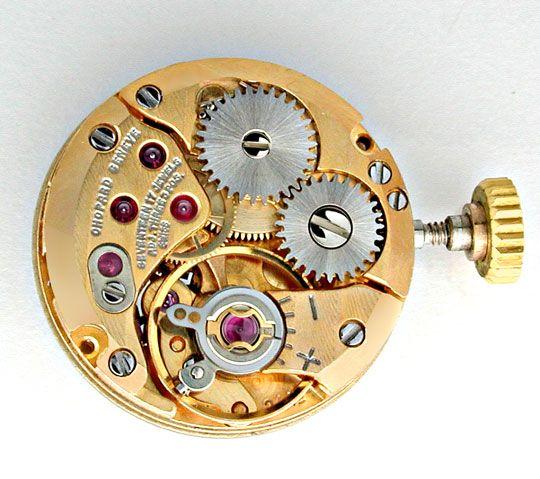 Foto 4, Original Chopard Damen-Brillant-Uhr Topuhr Ungetragen!!, U1882