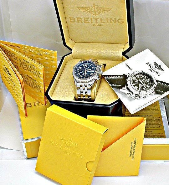 Foto 4, Orig.Hr-Breitling Crosswind Pilot Shop! Neuz. Portofrei, U1886