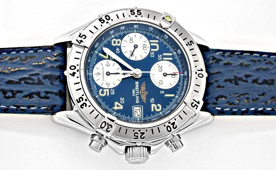 Foto 1, Orig.Breitling Chronograph Edelstahl Topuhr Ungetragen!, U1890