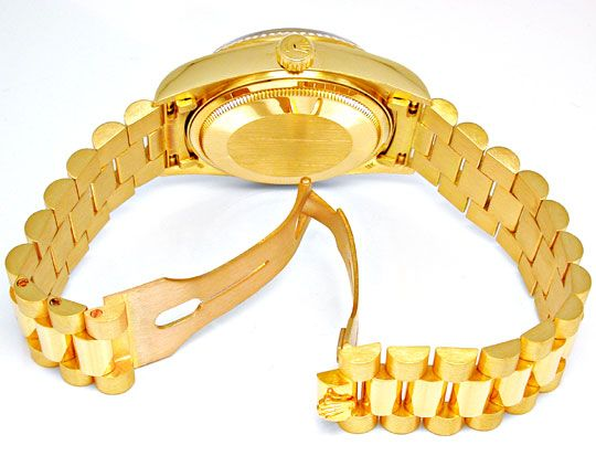 Foto 3, Orig.Hr Rolex Daydate Gold Topuhr Neuzustand! Portofrei, U1893