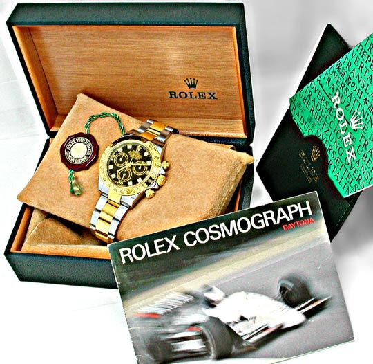 Foto 4, Rolex Daytona Cosmograph Diam STG Topuhr Neuz Portofrei, U1898