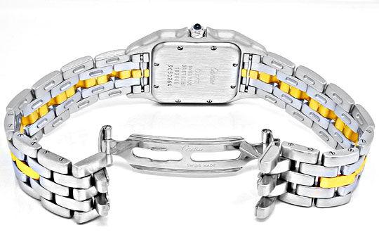 Foto 3, Orig.Cartier-Panthere Stahlgold Herren-Uhr Topuhr Neuw., U1900