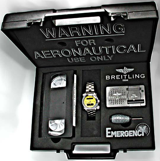 Foto 4, Orig.Breitling Emergency Titan Shop! Neuzust. Portofrei, U1902