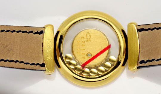 Foto 4, Chopard Casmir Damen Safire Diamanten Gold Topuhr Neuz., U1905