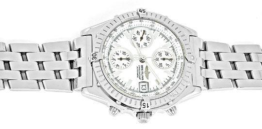 Foto 1, Breitling Chronomat, ST Chronograph Chronometer! Topuhr, U1909