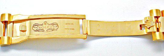 Foto 6, !!Ungetragen!! Rolex Daydate Gold Diam Topuhr Portofrei, U1910