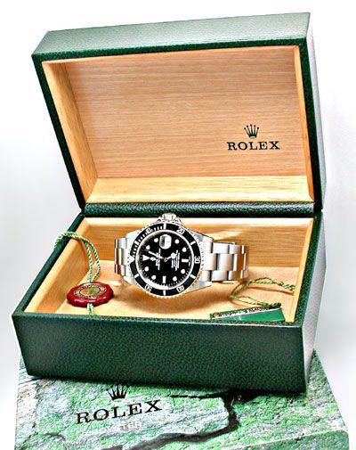 Foto 4, Ungetragen Orig. Rolex Submariner Datum Stahl Herrenuhr, U1913