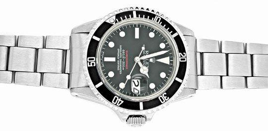 Foto 1, Rolex Submariner Datum Rotschrift Cal.1570 R1680 Topuhr, U1916