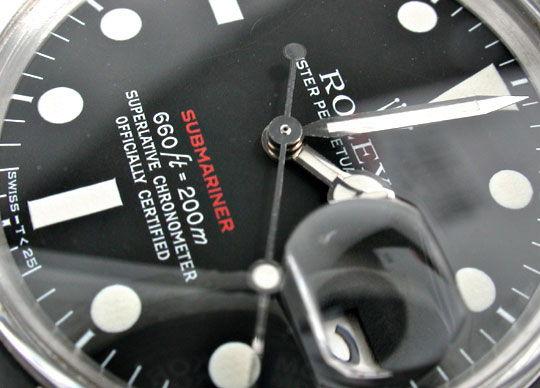 Foto 3, Rolex Submariner Datum Rotschrift Cal.1570 R1680 Topuhr, U1916