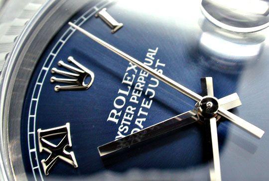 Foto 3, Rolex Datejust Herrenuhr Stahl Jubileeband Topuhr Neuz., U1925