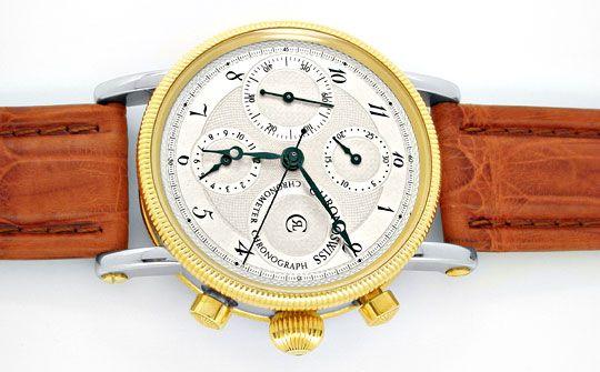 Foto 1, Chronoswiss STG Chronometer Chronograph Topuhr F.Neuz.!, U1927