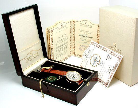Foto 9, Chronoswiss STG Chronometer Chronograph Topuhr F.Neuz.!, U1927