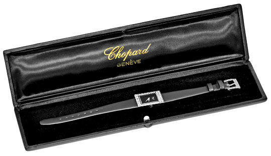 Foto 6, Chopard Damen Uhr 1,0ct Diamanten, 18K Weissgold Topuhr, U1929