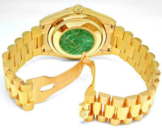 Foto 3, Rolex Day Date massivband! Gelbgold Geprüft Ungetragen!, U1935