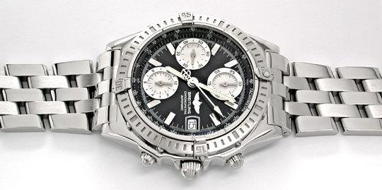 Foto 1, Breitling Chronomat Pilotband Chronometer Topuhr Neuz.!, U1942