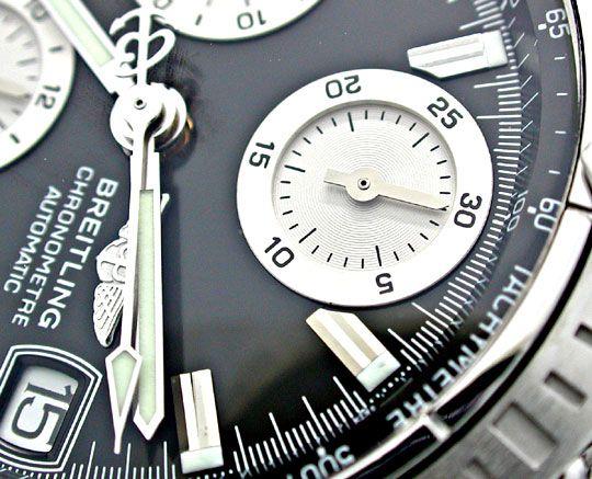 Foto 3, Breitling Chronomat Pilotband Chronometer Topuhr Neuz.!, U1942