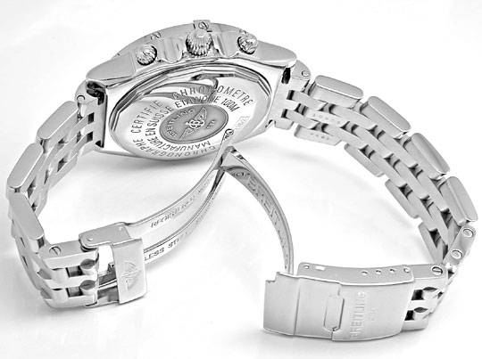 Foto 4, Breitling Chronomat Pilotband Chronometer Topuhr Neuz.!, U1942