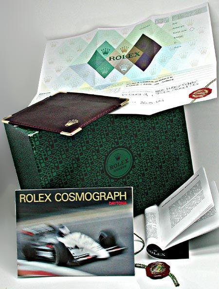 Foto 5, Ungetragene Rolex Daytona Cosmograph, Perlmutt, Geprüft, U1951