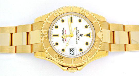 Foto 1, Ungetragene!! Rolex Yachtmaster Medium Gelbgold Geprüft, U1953